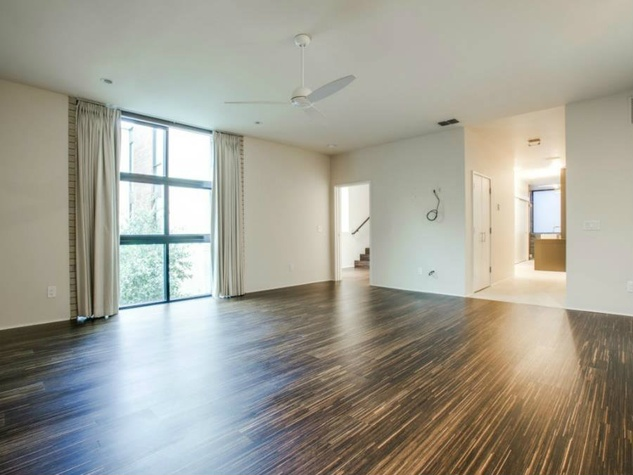 Master bedroom at 4321 Travis St. in Dallas