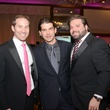 6 Dr. Eric Haas, from left, Dr. Oscar Moreno and Barrett Hall at the Pink Door Gala November 2014