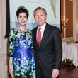 Dr. Kelli Cohen Fein and Martin Fein at the Community Immunity Spring Luncheon April 2014