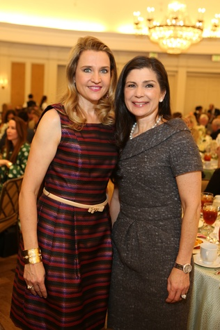 17 Mary D'Andrea, left, and Cynthia Petrello at the The Center Luncheon February 2015
