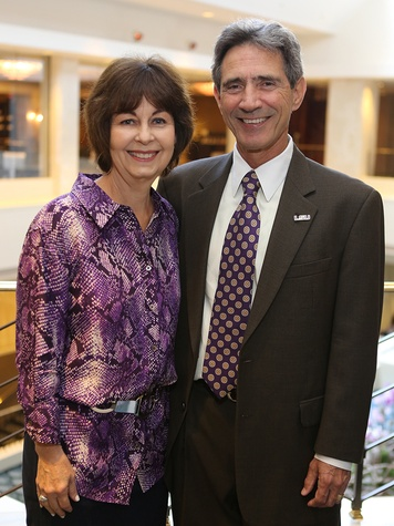 Judy and Darby SerÇ at the LSU Foundation luncheon June 2014