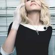 Madonna in headmistress dress