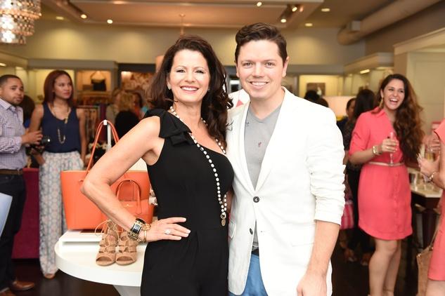 Houston, Elaine Turner Apparel Launch Party, May 2015, Cynthia Jones, David Peck