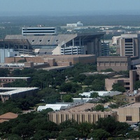 Texas A&M University, campus, aerial