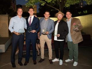 Hunter Pond, Adam Kraus, Nick Marino Jr., Matt Alexander, Jon Alsup