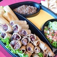 Los Tios, Panchos Party Pack, fajitas, tamales, tacosLos Tios, Panchos Party Pack, fajitas, tamales, tacos