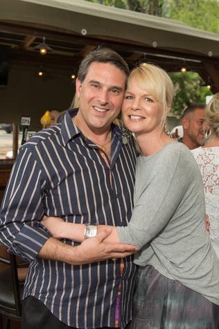 News, Shelby, Pet Set Kick-off, Hardwood Grill, June 2015, Robert Lazzari & Jennifer Simmons