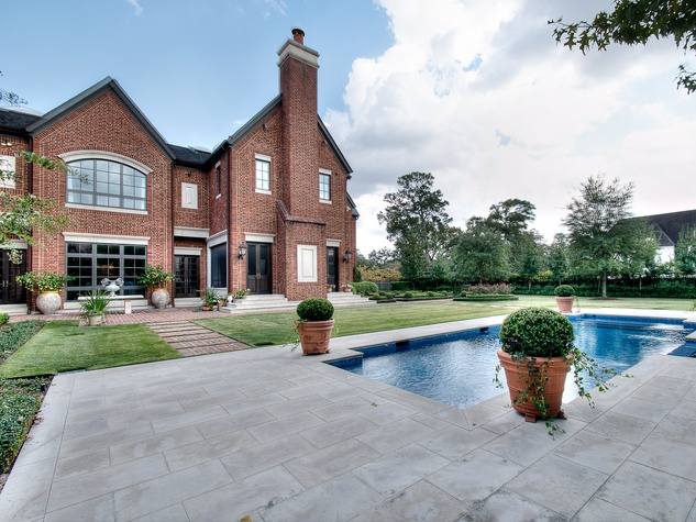 Houston, most expensive homes, 1722 River Oaks Blvd., January 2013, swimming pool