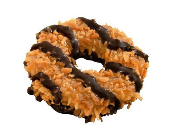 Girl Scout cookie Samoa