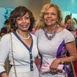 4 Laura Clemmons, left, and Yvonne Cormier at the Memorial Hermann Razzle Dazzle luncheon October 2014