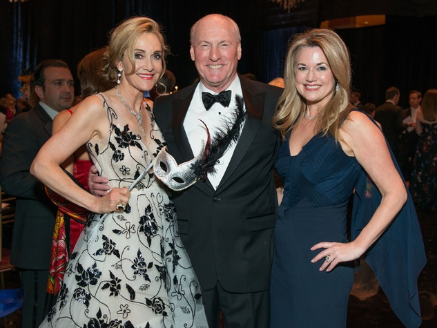 35 Jana and Scotty Arnoldy, left, with Millette Sherman at the Houston Ballet Ball February 2015