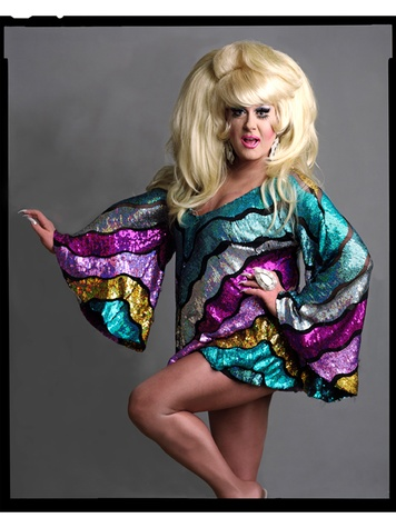 Timothy Greenfield-Sanders photography The Out List November 2013 Lady Bunny, 2013