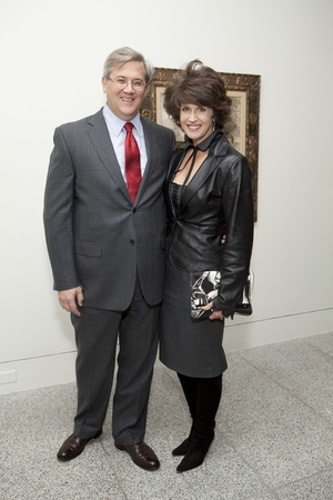 Picasso Black and White opening dinner, February 2013, Albert Grobmyer, Melissa Grobmyer