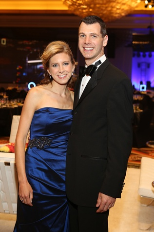 Symphony Ball, May 2015, Christina and Mark Hanson