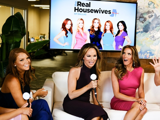 Real Housewives of Dallas Brandi Redmond, Tiffany Hendra, Cary Deuber