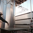 Live Oak Brewing Company austin with brewers playing ping pong