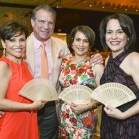 1 Latin Women's Initiative Luncheon May 2013 Lucia Cordua, Michael Cordua, Marlyn Greiner, Rosi Hernandez