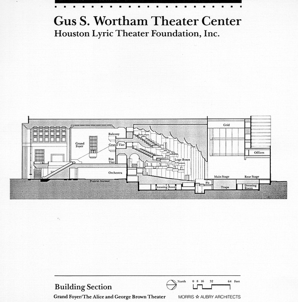 News_Wortham Theater_Grand Foyer/Theater Building Plan_May 2012
