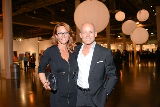 15 Julie and Blake Pratz at the HFAF 2014 Opening Night September 2014