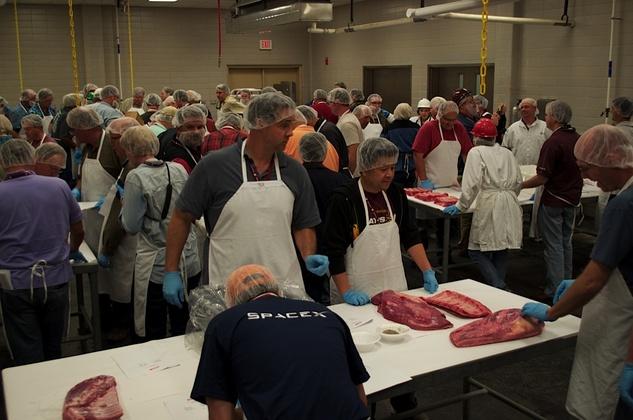 Austin Photo Set: News_Dupuy_bbq camp_butchering_june 2012_6