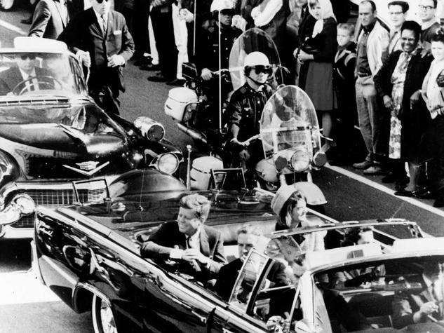 JFK assassination couple in car