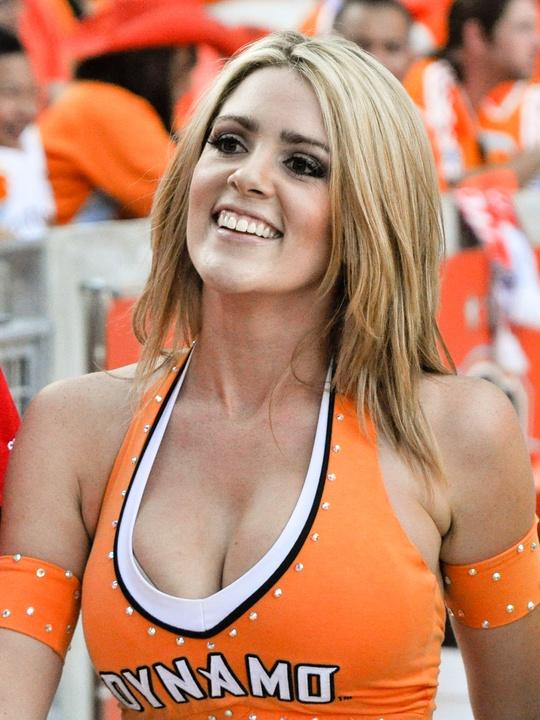 Dynamo cheerleader