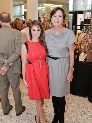 Ellen James, left, and Liz Rigney at Camp for All October 2013