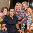 201 Roseann Rogers, from left, Mario Lopez, Lara Bell and Page Parkes at the Boys & Girls Harbor Fashion Show April 2015