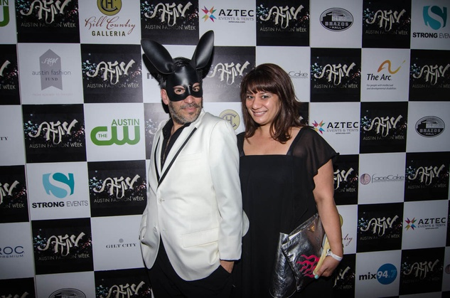 AFW Award show Daniel Esquivel and Amy Woarshauer