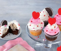 Baskin Robbins ice cream cupcakes