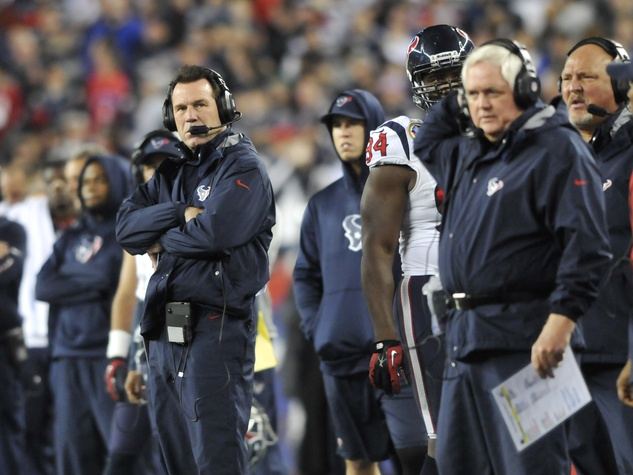Texans coaches down
