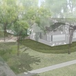 5 The Menil Parking Lot and Cafe rendering October 2013