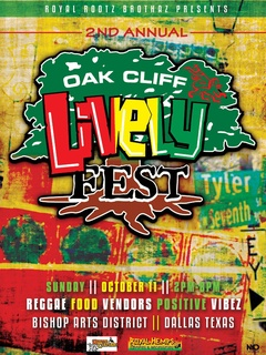 Roots & Culture 2nd Annual Oak Cliff Lively Fest