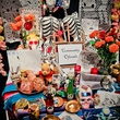 9 the altar at the Lawndale Gala and Retablo Silent Auction October 2013