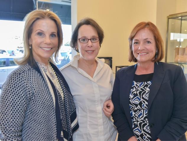 Anne Reeder, Ann Margolin, Melanie Myers, Can Do kickoff at Tootsies