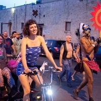 queer bomb pedicab