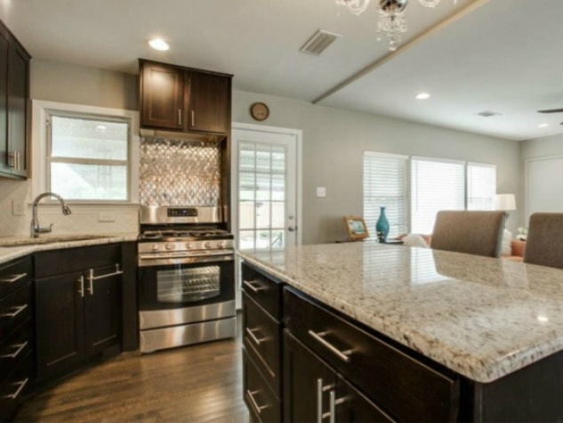 Kitchen at 6464 Fisher Rd. in Dallas