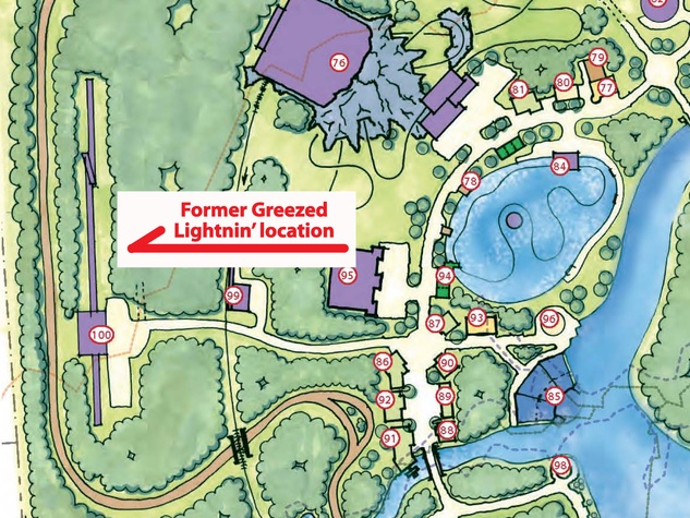 Greezed lightnin lightning grand texas theme park