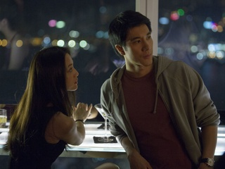 Tang Wei and Leehom Wang in Blackhat