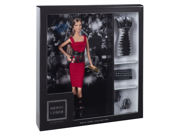 9 Hervé Léger by Max Azria Barbie September 2013 doll in box
