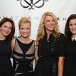 139 Katherine Treistman, from left, Tammie Johnson, Tatiana Green and Katrina Tehlirian at the Jonathan Blake fashion show October 2014