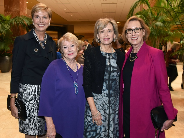 Dr. Carine Feyten, Nancy Ann Hunt, Lisa Simmons, Roslyn Dawson Thompson