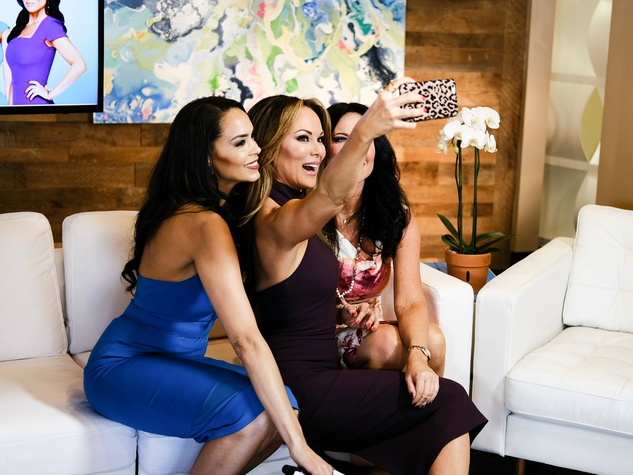 Real Housewives of Dallas Dawn Neufeld, Tiffany Hendra, LeeAnne Locken