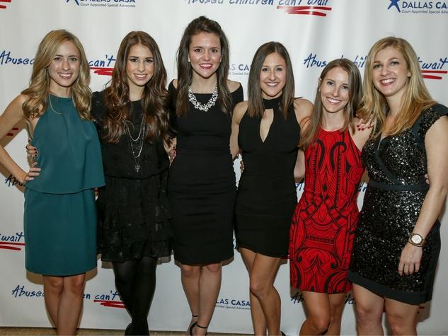 Amanda Gerards, Dana Swann, Ann Dexter, Kayli Ray, Catherine Roberts and Michelle Stephenson