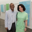 Selven O'Keef Jarmon, Poppi Massey at Dan Rees Opening Reception