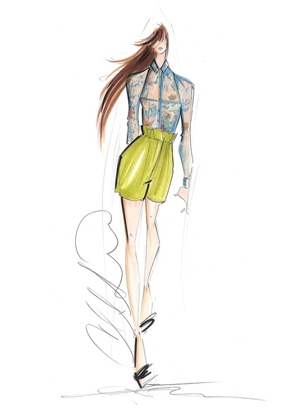 News_Sketch_Christian Siriano_Spring 2012