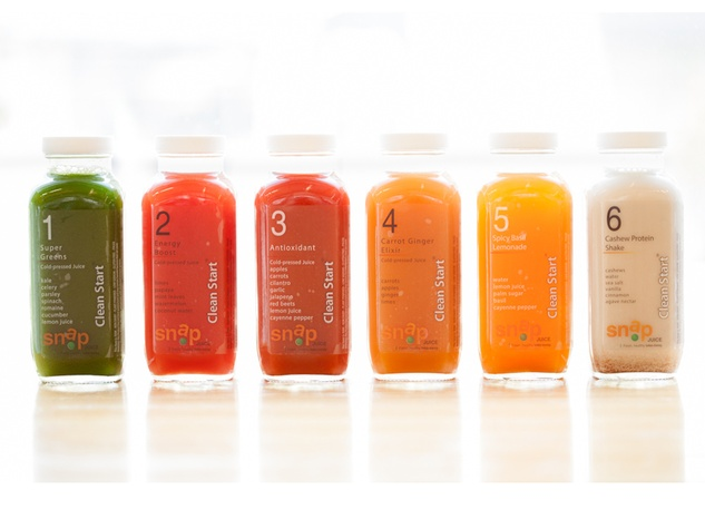 Snap Kitchen Clean Start Juices