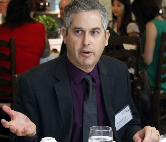 Anthony Brandt at Center for Houston's Future event August 2014