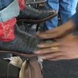 11, RodeoHouston, Larry White, boot shiner