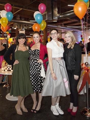 Brooke East, Cerissa Lair, Kristen Nevils, Ashley Schenk, Birthday Party Project Turns Three